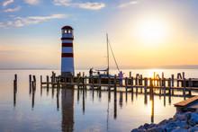 Lighthouse At Lake Neusiedl, P...