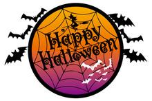 Happy Halloween Logo, Illustra...
