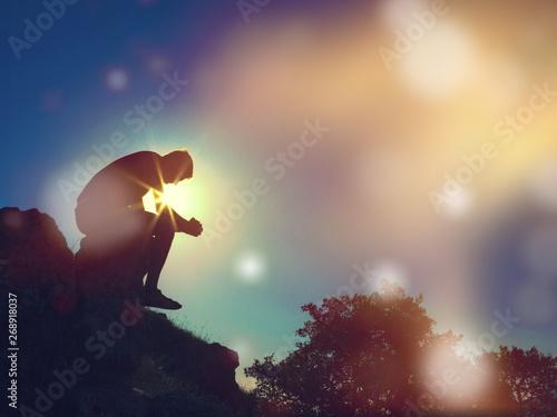 Foto Praying.