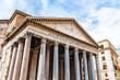Leinwanddruck Bild - Pantheon - former roman church, Rome, Italy