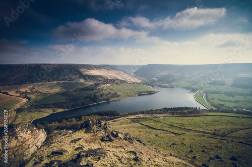 Photo Dovestones from Aldermans Hill