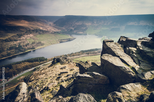 Dovestones and Aldermans Hill Wallpaper Mural