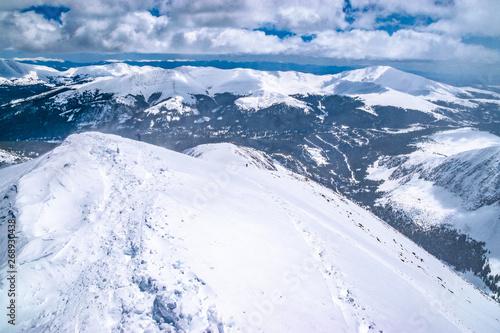 Beautiful Morning Hike Up Quandary Peak in Breckenridge, Colorado #268930438
