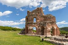 The Red Church - Ruins Of Early Byzantine Christian Basilica Near Town Of Perushtitsa, Plovdiv Region, Bulgaria