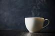 Leinwandbild Motiv コーヒー Coffee cup on dark background