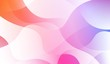 Hologram Gradient Geometric Wave Shape. Abstract background. For Template Cell Phone Backgrounds. Vector Illustration.