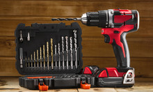 Cordless Drill Driver In Red W...