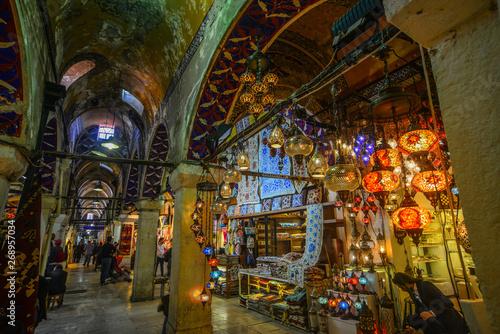 Grand Bazaar in Istanbul, Turkey © Phuong