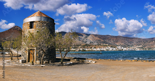 Old Windmills Poros Elounda on Crete