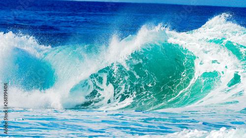 Poster Zee / Oceaan Surf at its best