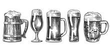 Beer Glass Mug Set