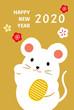 2020 カワ年賀状