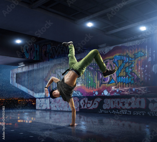 Photo Male Hip Hop Dancer