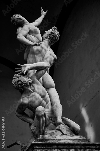 Cuadros en Lienzo Kidnapping of the Sabine Women Ratto delle Sabine