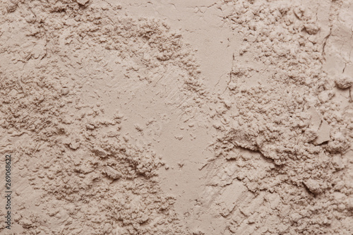 Obraz na plátně Cosmetic clay powder textured background, close up