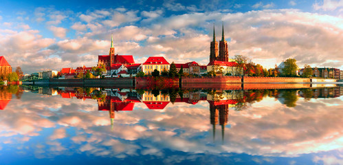 ancient temples Wroclaw