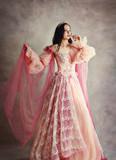 princess peach pink dress
