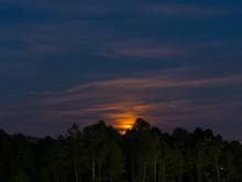 Super Moon, Landscape Colorful...