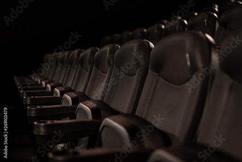 Fotografie, Tablou  fotele kinowe- kino