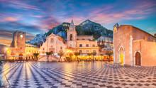 Belvedere Of Taormina And San ...