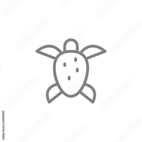 Obraz na plátně  Turtle icon