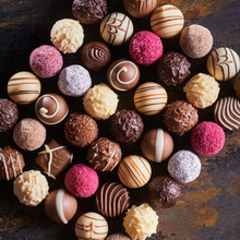 Gourmet Speciality Chocolate Bonbons Or Pralines