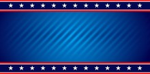 American USA Flag Background
