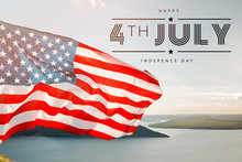 Patriotic Holiday. 4th Of July, Independence Day.