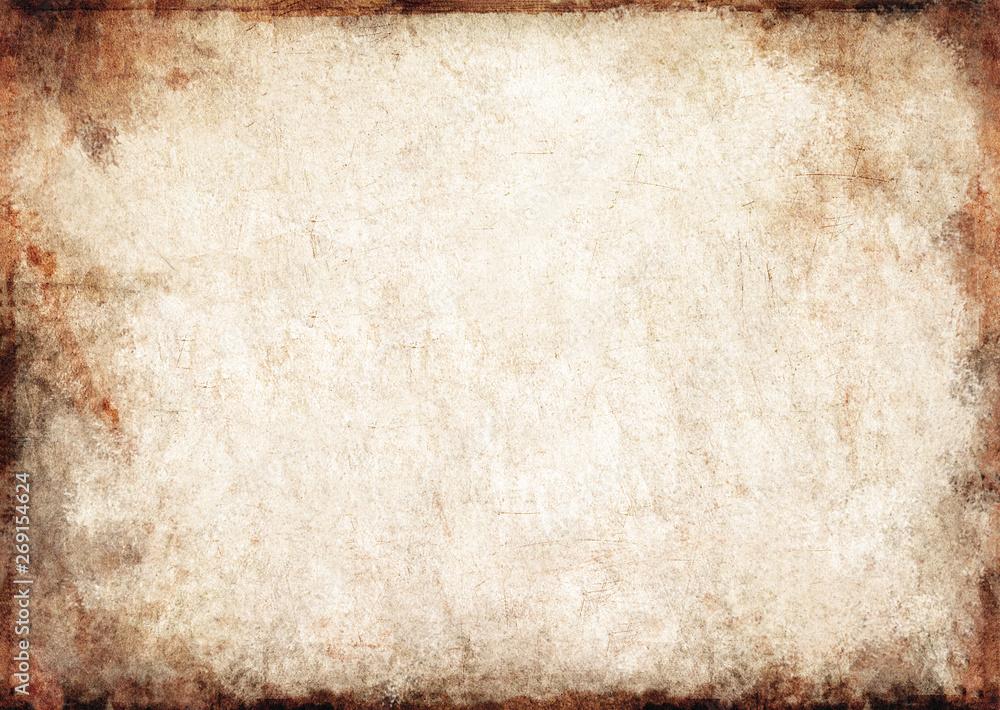 Fototapety, obrazy: Altes Papier, texturiert, vintage