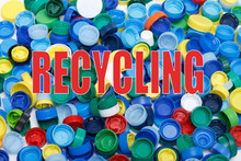 Save The World. Collect The Bottle Caps To Support Recykling.