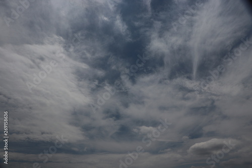 Türaufkleber Darknightsky 雲のある風景