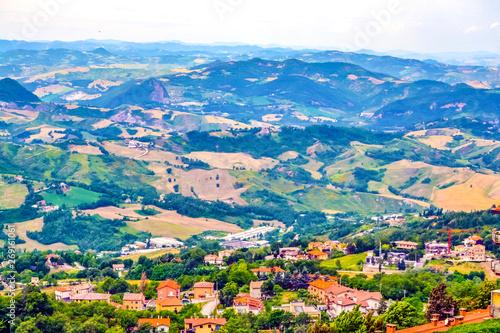 Small village in San Marino