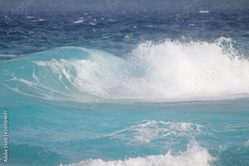 Stickers pour portes Eau seychelles private island beach