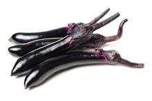 Eggplant Or Aubergine And Pars...