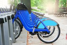 City Bikes Rent-A-Bike Concept
