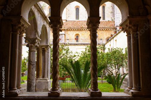 abbazia in Italia Canvas Print
