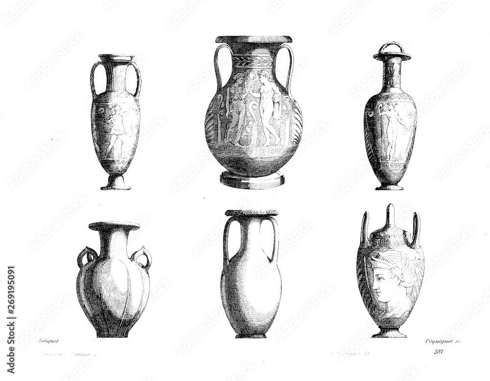 Fototapety, obrazy: Ornament and decorative element