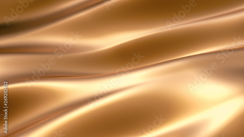 Cadres-photo bureau Tissu Luxury elegant background abstraction fabric. 3d illustration, 3d rendering.