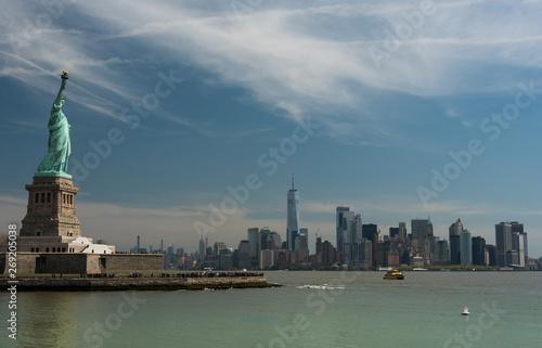 Poster Chicago New York City Panorama