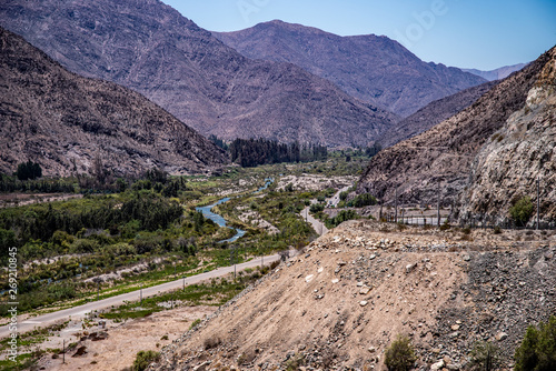 Photo Blick aus Elqui-Tal, Chile