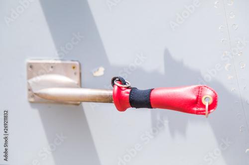 Tela Tubi di pitot per misurare la pressione dinamica di un aereo