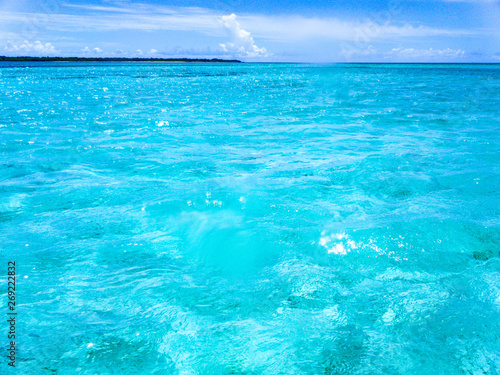 Photo Stands Turquoise 沖縄の海 夏