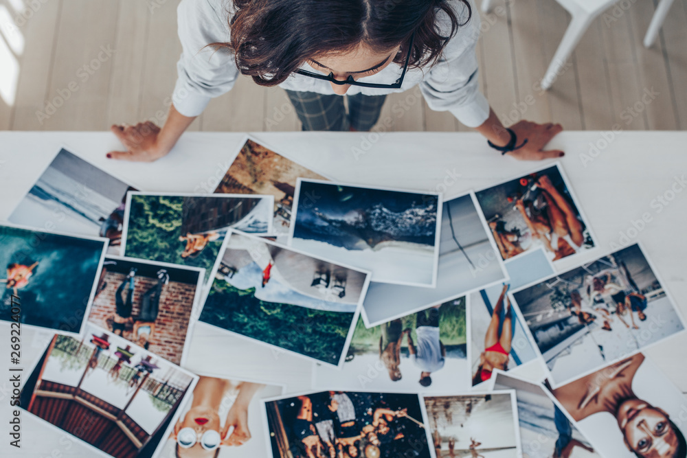Fototapety, obrazy: Choosing the best image from the photoshoots