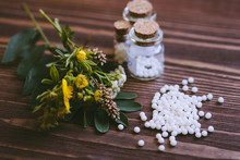 Homeopathic Globules In Small ...
