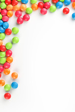 Frame Of Multi-colored Candies...