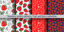 Strawberry Seamless Pattern. R...
