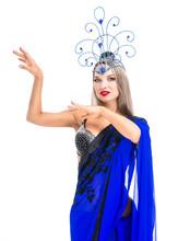 Beautiful Young Dancer Wearing...