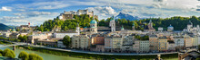 View To Salzburg Skyline From,...