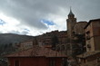 December 28, 2013. Albarracin, Teruel, Aragon, Spain. Cathedral Of El Salvador Seen From The Albarracin Square. History, Travel, Nature, Landscape, Vacation, Architecture.