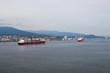 Gllomy morning in Vancouver port